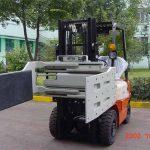 Xina Eficient hidràulic de muntacàrregues amb fixació multiusos