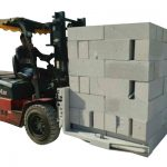 Maons hidràulics de formigó elevadors / braça elevadora per blocs