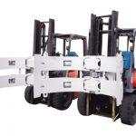 Carretons elevadors hidràulics 25f: peces de pinça que s'utilitzen en el tauler de guix