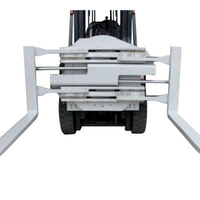 Pinça de forquilla giratòria amb fixació elevadora de classe 2 amb 1220 mm de longitud